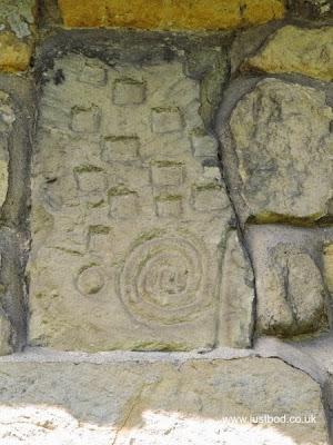 Carved stone St Hilda's, Ellerburn