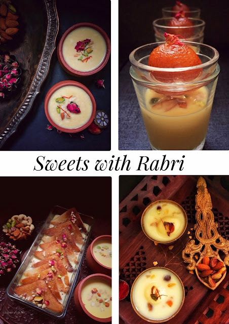 RABRI/RABDI, INDIAN SWEETS, DIWALI RECIPES, DESSERTS