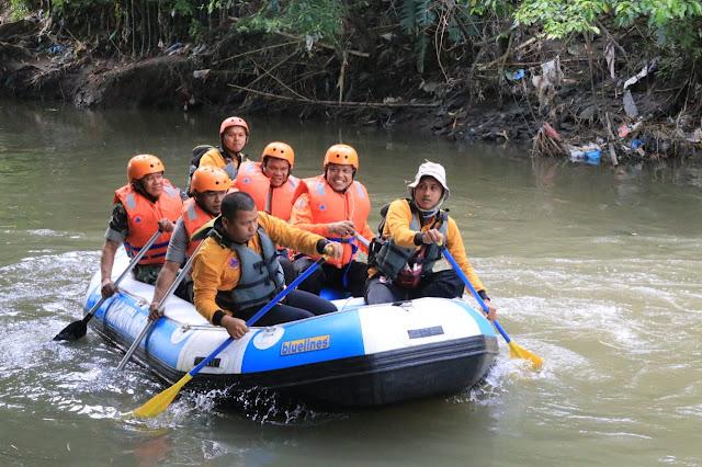 Lagi, Pemko Medan Bersama Forkopimda Susur Sungai Deli