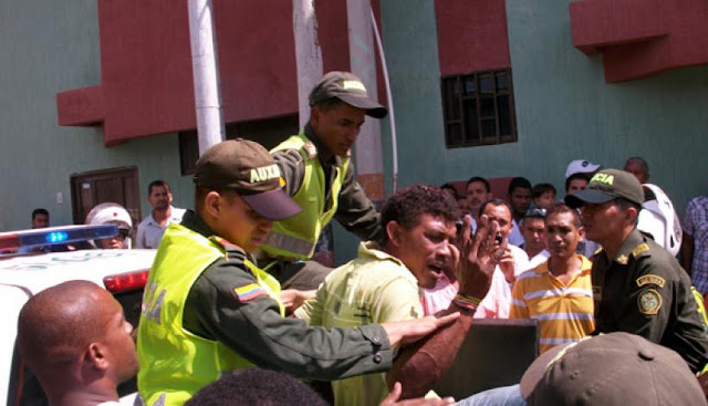 hoyennoticia.com, Heridos a bala atracadores en el centro de Riohacha