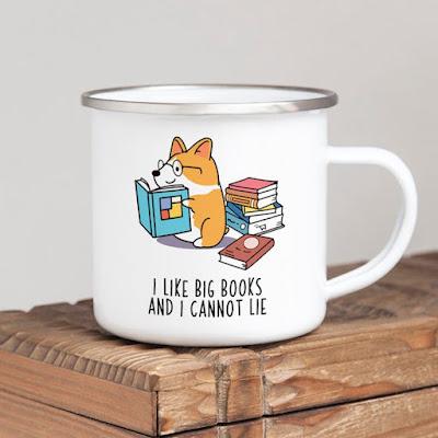 I Like Big Books Coffee Mug