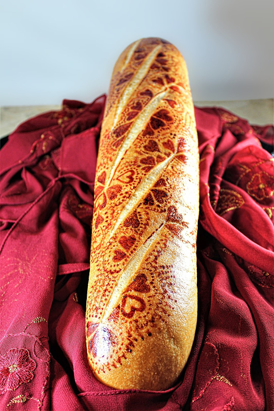 Chef Tess Bakeresse: My Decorative Bread from the