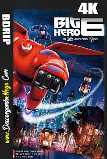Big Hero 6 (2014) 4K UHD [HDR] Latino