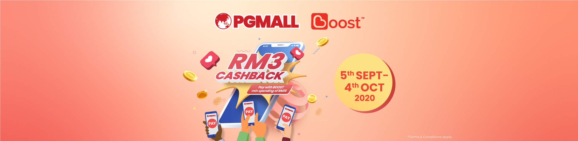 Boost di PG Mall