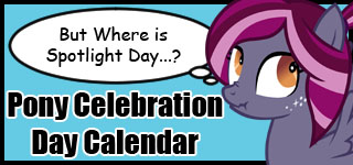 MLP Celebration Day Calendar