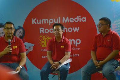 Roadshow IDCamp Indosat Ooredoo di UNDIP