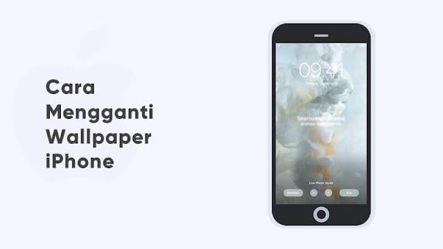 cara ganti wallpaper iphone