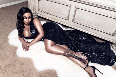 Blac Chyna shows massive cleavage in new photoshoot