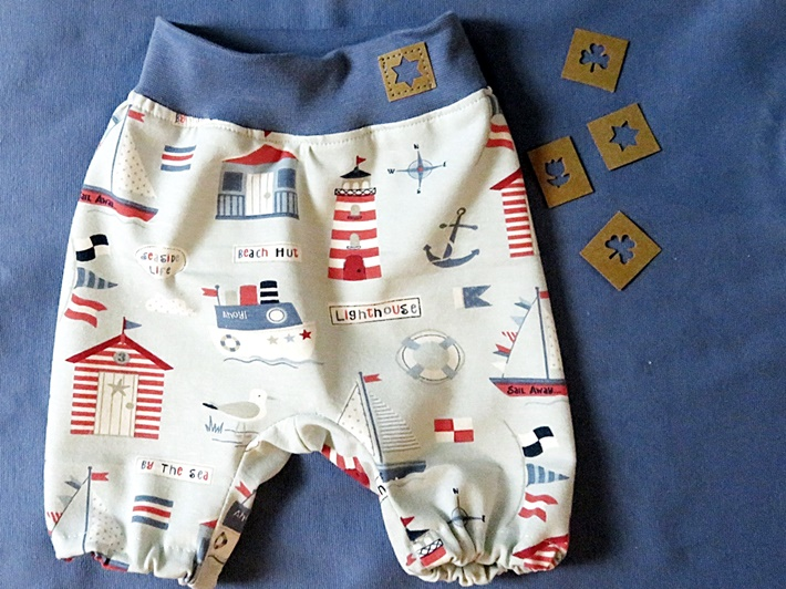 DIY: Baby Shorts mit Snappap Etikett