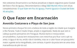 blog Caminhos me Levem