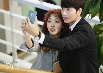 KDrama Cheese In The Trap (Park Hae Jin dan Kim Go Eun)     cerita sekumpulan pelajar universiti di akhir semester