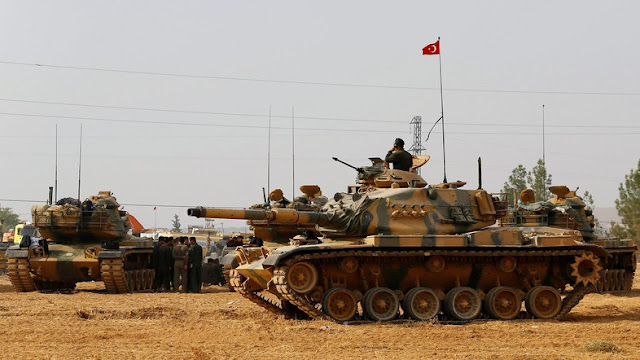 Turkish army, Kurdish militia exchange fire across Syria border