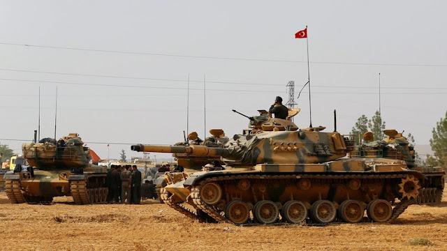 Turkish army, Kurdish militia exchange fire across Syria border