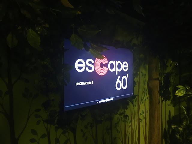 Um poquinho da Sala Uncharted 4 - Escape 60