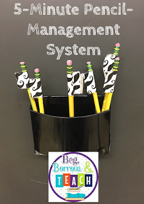 5-Minute Pencil-Management System