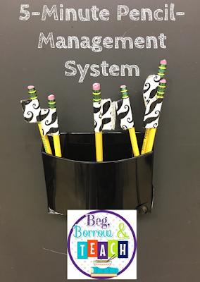 5-Minute Pencil-Management System