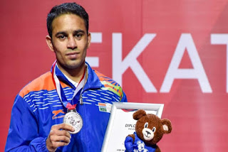 Amit Panghal: Ranked No 1 for Olympic Qualifiers