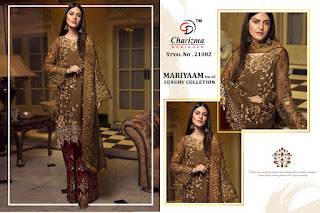 Charizma Mariyaam Vol 2 Luxury Collection
