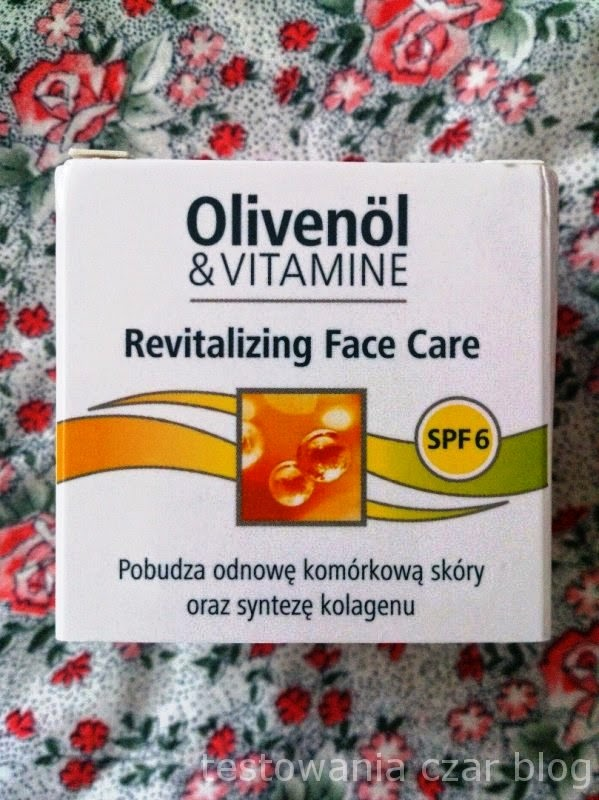 Krem do twarzy  Olivenöl & Vitamine Revitalizing Face Care, medipharma cosmetics