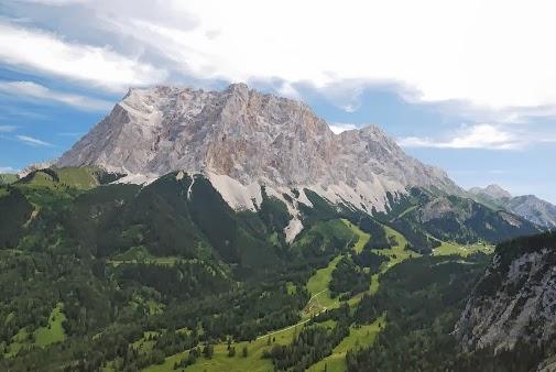 Montanha Zugspitze - Alemanha
