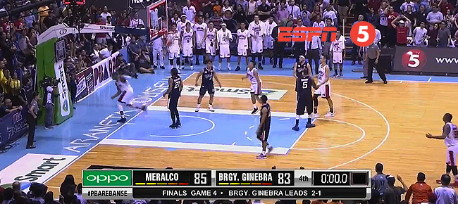 Meralco def. Ginebra, 85-83 (REPLAY VIDEO) Finals Game 4 / October 20