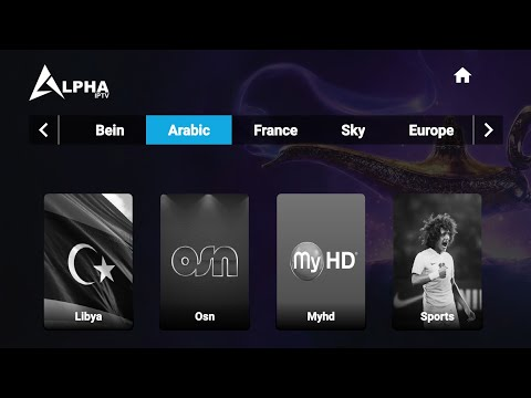Alpha IPTV + Code  Activation Best Live TV & IPTV