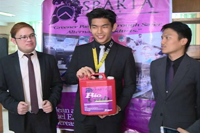 Baguio Students Discover Gabi-Derived Fuel, Finds It To Be A Cleaner Alternative To Petroleum For Cars!