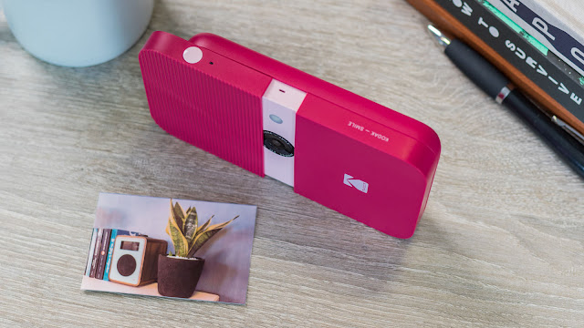 Kodak Smile Instant Print Digital Camera Review