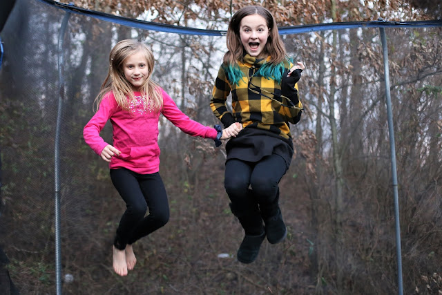Trampoline photography