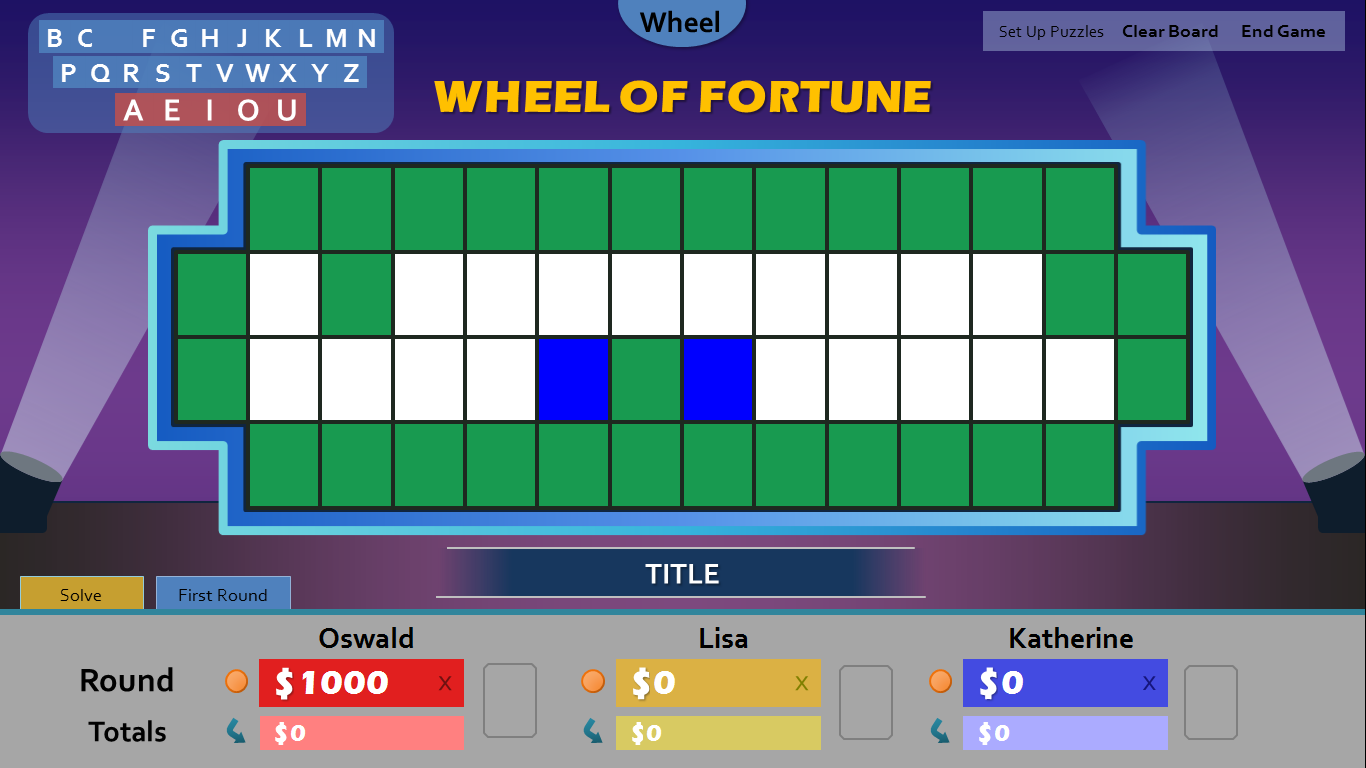 wheel of fortune for powerpoint games by tim