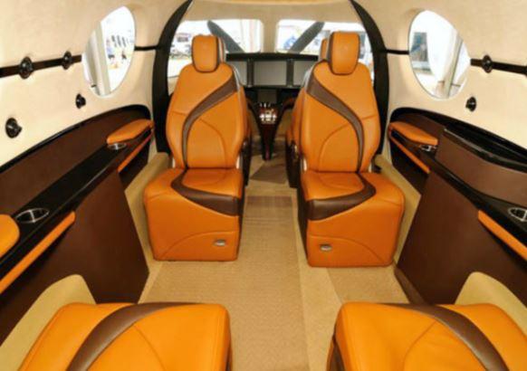Kestrel K-350 interior