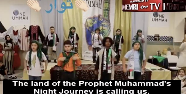 Sick: Children in Philly Muslim Society Sing About Sacrificing Themselves and Chopping Off Heads