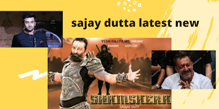 Sanjay Dutta Latest News