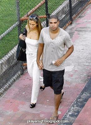 Adriano Leite Ribeiro and his sexi girlfriend Joana Machado