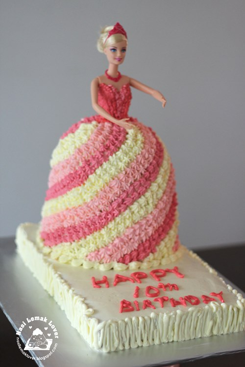 Nasi Lemak Lover Barbie Doll Cake 芭比娃娃蛋糕