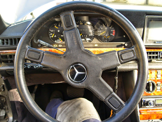 mercedes 126 brabus steering wheel
