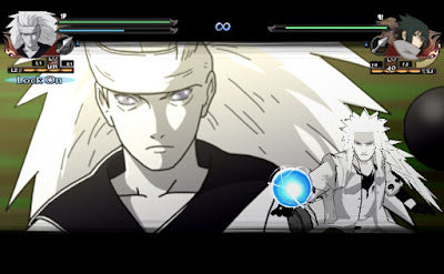 Naruto Shippuden : Ultimate Ninja Impact Mod Texture Jiraya [Madara Rikudo Mode] For PPSSPP Terbaru