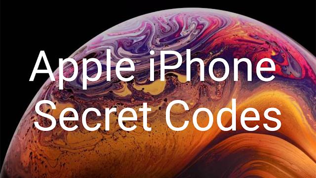 Apple iPhone Secret Codes 2020