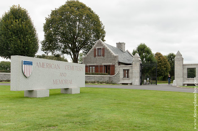 Brittany American Cemetery viaje a Normandía II guerra mundial cementerio Americano