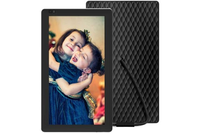 Nixplay Seed 10.1 Inch Widescreen Digital Wi-Fi Photo Frame
