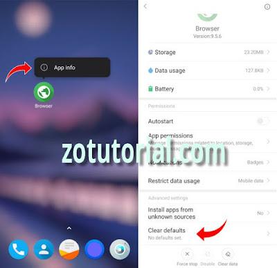 Cara Ganti Browser Bawaan Xiaomi menjadi Chrome by zotutorial.com
