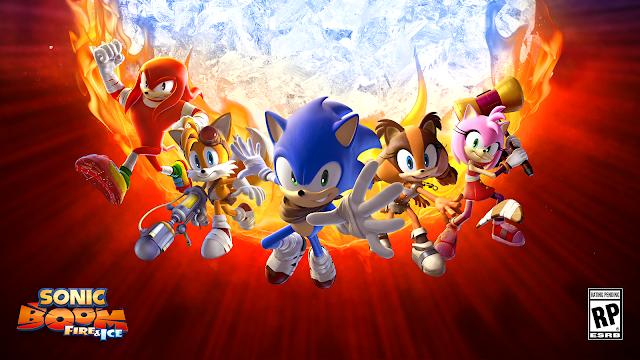 Nuevo tráiler de Sonic Boom: Fire and Ice con Amy de protagonista