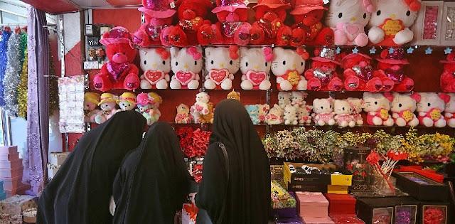 Sepenggal Cerita Hari Valentine Di Kota Suci Di Irak, Cinta Dan Kekhawatiran Datang Bersamaan