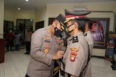 Sertijab di Polres Metro Bekasi, Dua Kasat dan Satu Kapolsek Berganti