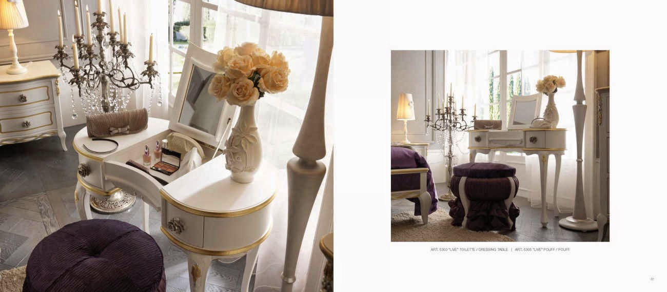 Design Interior / Mobila italiana - Design interior case clasice - Amenajari interioare - Bucuresti | Mobila italia - de lux - toaleta - cu - oglinda - dormitor - Live