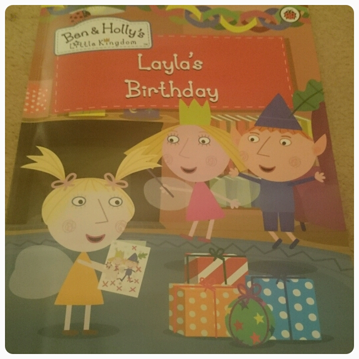 penwizard ben & Holly birthday book