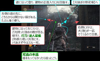 DarkSouls3 灰の審判者グンダ 火継ぎの祭祀場 攻略 地図 マップ
