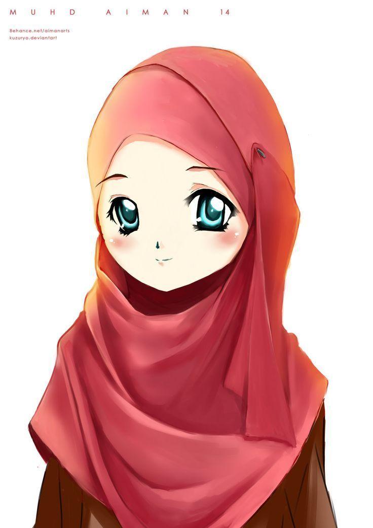 Kartun Muslimah Lucu Manis