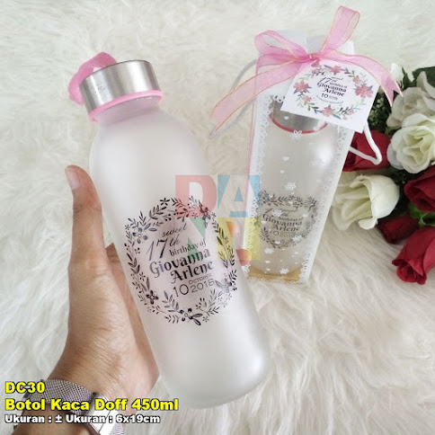 Botol Kaca Doff 450ml