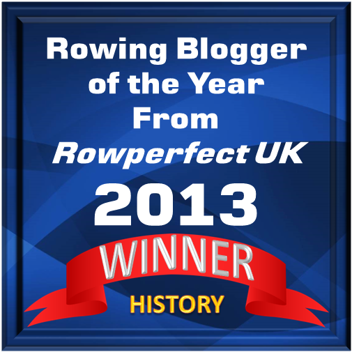 2013 Rowing History Blog Award